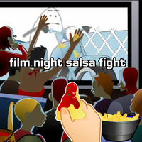 Film Night Salsa Fight