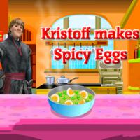 Kristoff Makes Spicy Eggs