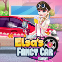 Elsa Fancy Car