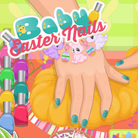 Baby: Easter Nails