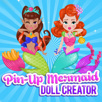Pin-Up Mermaid: Doll Creator