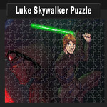 Luke Skywalker Puzzle