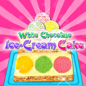 White Chocolate: Ice Cream Cake