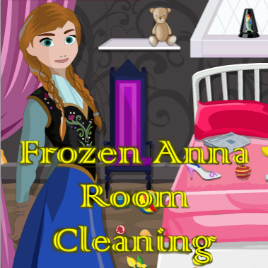 Frozen Anna: Room Cleaning