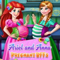 Ariel And Anna: Pregnant Bffs