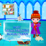 Baby Nora Frozen: Rooms Cleaning