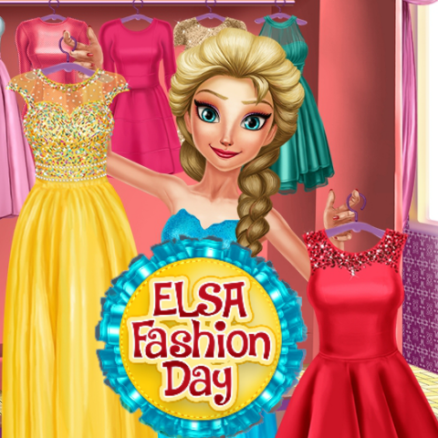 Elsa: Fashion Day