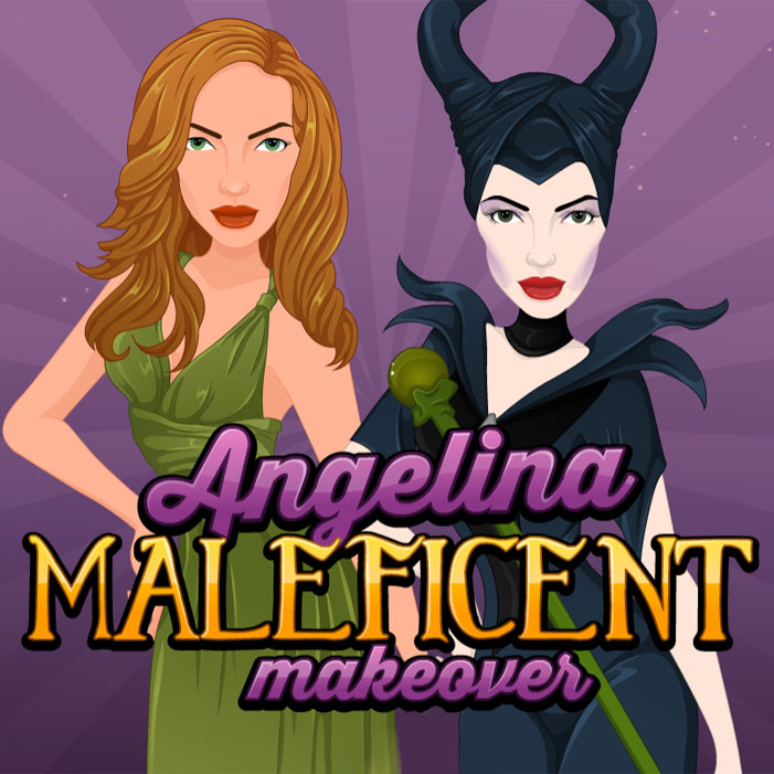 Angelina: Maleficent Makeover