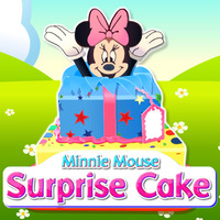Minnie Mouse: Surprise Cake