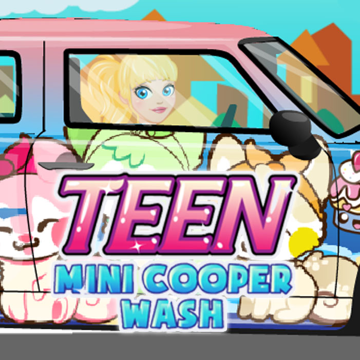 Teen: Mini Cooper Car Wash