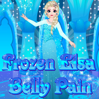 Frozen Elsa Belly Pain