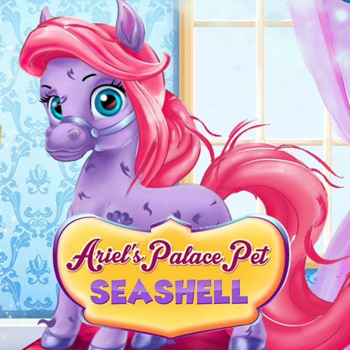Ariel's Palace Pet Seashell