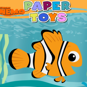 Finding Nemo Paper Toys