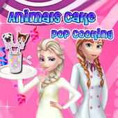 Animals Cake Pop Cooking