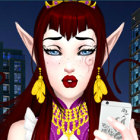 Urban Elf dress up game