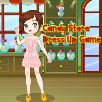 Candy Store Dress Up Game