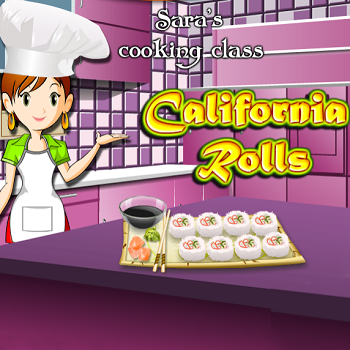 Sara's Cooking Class California Rolls