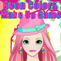 Neon Colors Make Up Game