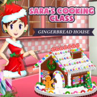 Sara's Cooking Class Gingerbread House