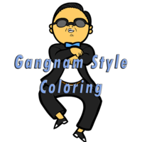 Gangnam Style Coloring