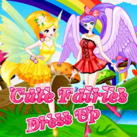 Cute Fairies Dress Up