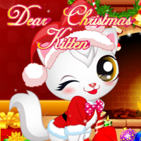 Dear Christmas Kitten