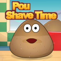 Pou Shave Time