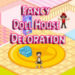 Fancy Doll House Decoration
