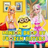 Minion Drop By Frozen Sisters