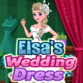 Elsa's Wedding Dress