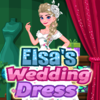 Tendencias de los juegos,Elsa is going to get married to her boyfriend, now they need to make a dress suit for her and decorate it. But they have so many things to do so they don't know where to begin, can you help them to finish the job successfully?