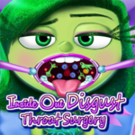 Inside Out Disgust Throat Surgery