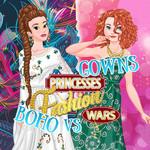 Princesses Fashion Wars Boho VS Gowns