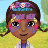 Doc Mcstuffins Face Art