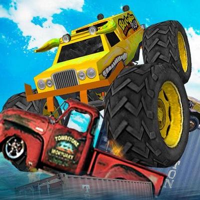 game truk monster