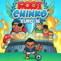 En Yeni Oyunlar,Foot Chinko Euro'16 is one of the Football Games that you can play on UGameZone.com for free. Bounce the soccer ball like a pinball to score! In Foot Chinko Euro'16, you will compete in crazy fields. You can use the voodoo doll to beat your rivals. Freeze the goalkeeper, pop mushrooms, and hit the streakers for bonuses!