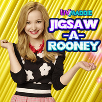 Liv And Maddie Jigsaw-A-Rooney