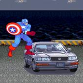 Captain America Car Rampage