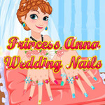 Princess Anna Wedding Nails