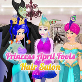 Princess April Fools Hair Salon