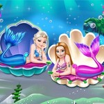Mermaid Princesses Dress Up