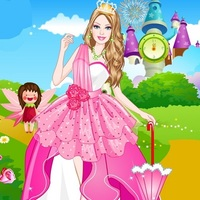 Barbie Prom Princess Dress Up