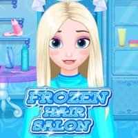 Populaire Jeux,Frozen Hair Salon is one of the Elsa Games that you can play on UGameZone.com for free. Elsa comes to your fashion salon shop, please makeover her. At first, find the hidden hairstyling tools and follow the instructions to wash and dry her hair to design a beautiful hairstyle for her, then you can make up her and choose a beautiful dress to dress up her. Have fun!