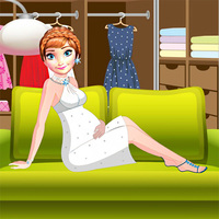 Pregnant Anne Dressing Room