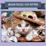 Jigsaw Puzzle Cute Kittens