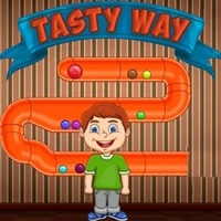 Beliebte Spiele,Tasty Way is one of the Physics Games that you can play on UGameZone.com for free. This boy loves candy and he can't get enough of his favorite sweets. Can you use the gigantic gumball to knock all of the candy down the winding chute towards him in this super sugary online game? Enjoy and have fun!