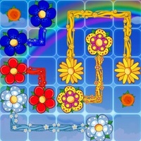 เกมออนไลน์ฟรี, Flowers is one of the Matching Games that you can play on UGameZone.com for free. Do you like matching games? The aim of the game is to connect all matching flowers and cover the entire board! Enjoy and have fun!