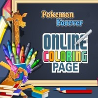 Pokemon Forever Online Coloring Page