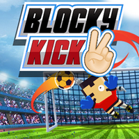 Best New Giochi,Blocky Kick 2 is one of the Football Games that you can play on UGameZone.com for free.  Get ready for the coolest free kick soccer Shot the ball and goal all the balls While the crowds are chanting, Swipe the screen to shot the best free kicks. As the game progresses, the balls will be faster and shot at more difficult angles. Reach the best scores with all world teams.