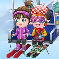 Baby Hazel Skier Dress Up